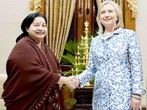 Hilari Clinton and Jayalalitha